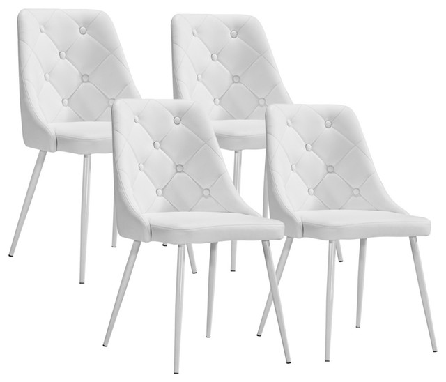 Beautiful White Dining Chairs Make Your Choice In Perfect Designs Of White Dining Chairs