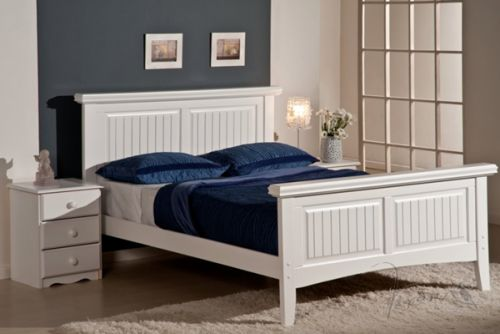 Beautiful White Wooden Bed Frame Candy White Kingsize Wooden Bed Frame Wooden Pine Beds