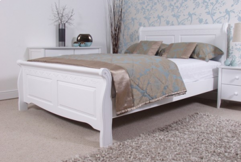 Beautiful White Wooden Bed Frame What Should You Know About White Bed Frame Home Design