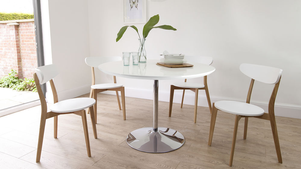 Beautiful Wood And White Dining Chairs Senn Oak And White Dining Chair White Dining Chairs Casanovainterior