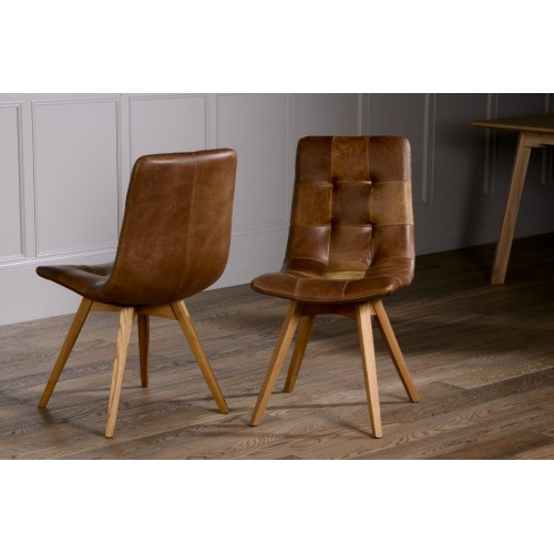 Beautiful Wood Leather Dining Chairs Allegro 100 Italian Leather Dining Chair With Wooden Leg