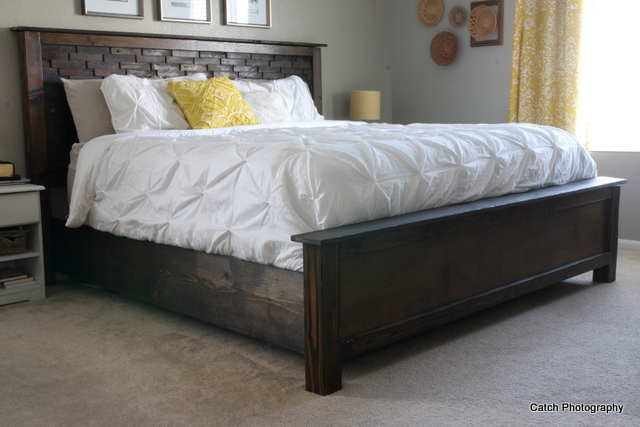 Beautiful Wooden King Size Bed Ana White Cassidy Bed King Diy Projects