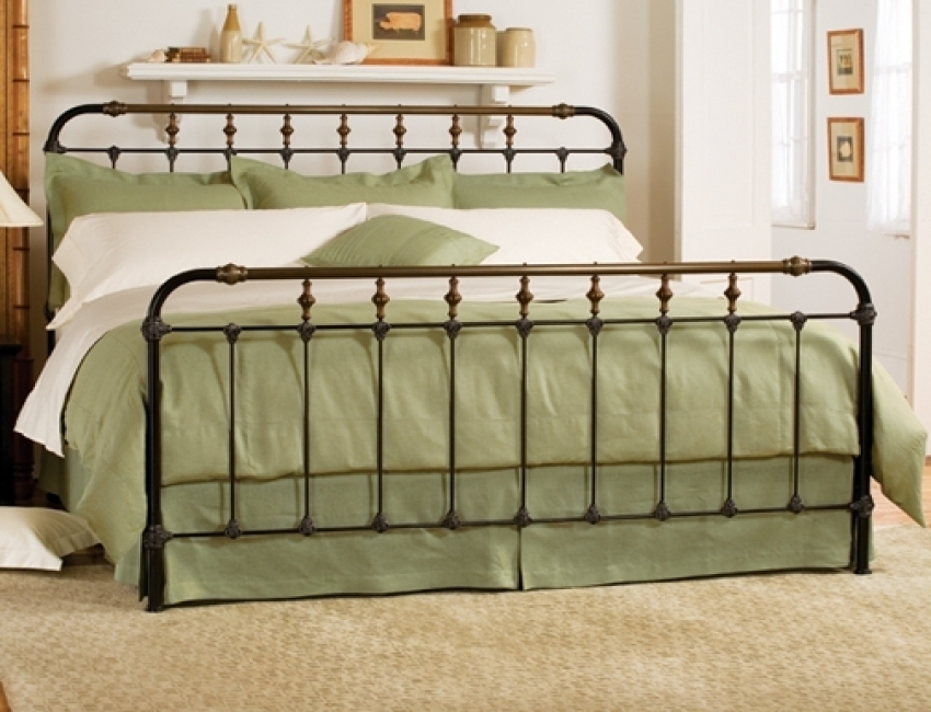 Beautiful Wrought Iron Bed Frame Top Wrought Iron Bed Frame King Stylish Wrought Iron Bed Frame