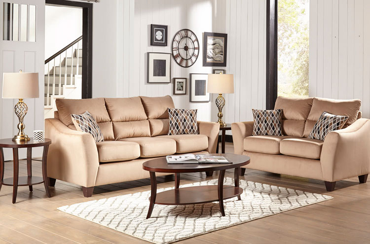 Best 2 Piece Living Room Furniture 2 Piece Camden Living Room Collection