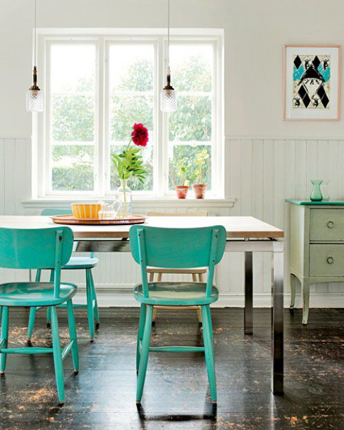 Best Aqua Kitchen Chairs 61 Best I Think I Want To Paint My Chairs Blue Images On Pinterest