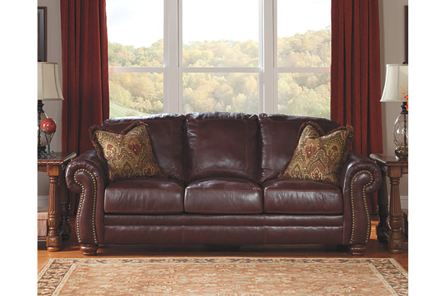 Best Ashley Brown Leather Sofa Ashley Furniture Sofas Furniture Design Ideas