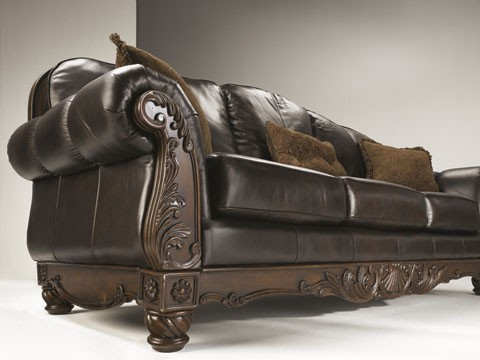 Best Ashley Brown Leather Sofa North Shore Sofa Set Ashley Furniture La Furniture Center
