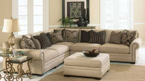 Best Ashley Furniture Microfiber Sectional Modular Sectional Sofa Ashley Furniture Centerfieldbar Regarding