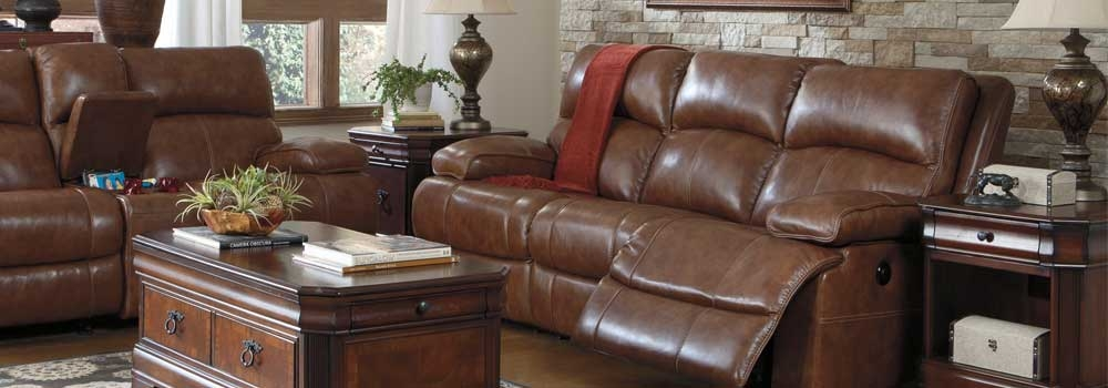 Best Ashley Leather Reclining Sofa And Loveseat Moe Furniture Long Knight Gray Reclining Sofa Loveseat Within