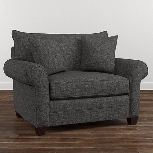 Best Big Chairs For Living Room Oversized Accent Chairs Living Room Furniture Bassett Furniture