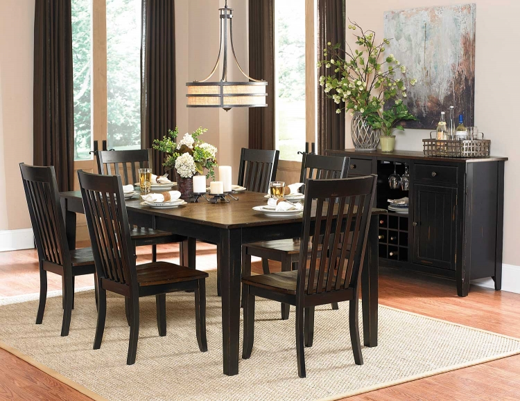 Best Black And Brown Dining Chairs Dining Room Furniture Formal Dining Set Casual Dining Set