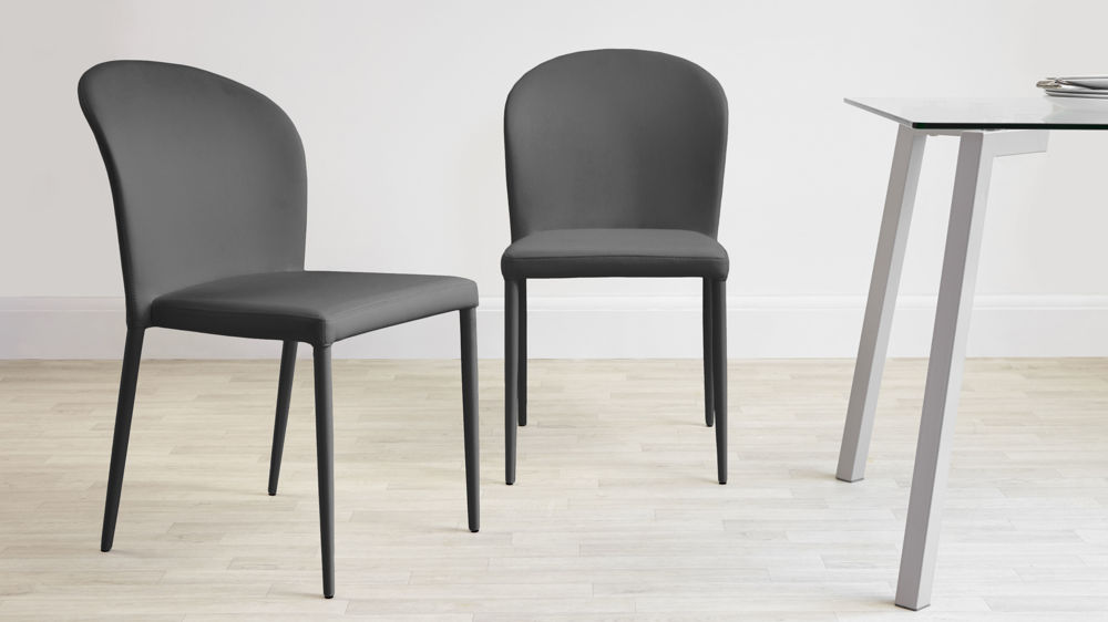 Best Black And Grey Dining Chairs Chairs Marvellous Gray Leather Dining Chairs Gray Leather Dining