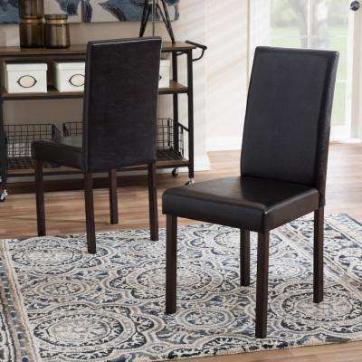 Best Black Brown Dining Chairs Brownrust Dining Chairs Kitchen Dining Room Furniture The