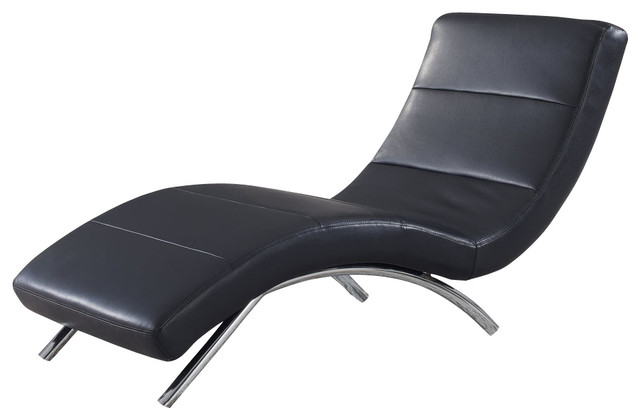 Best Black Leather Chaise Lounge Living Room Brilliant Some Various Wonderful Designs Leather