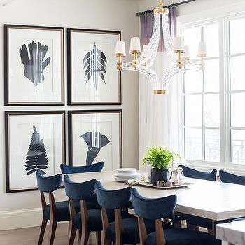 Best Blue Dining Chairs Navy Blue Velvet Dining Chairs Design Ideas