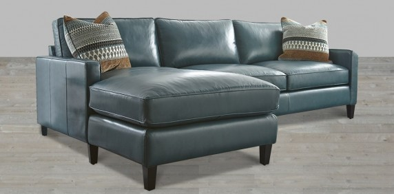 Best Blue Leather Chaise Lounge Leather Sectional Artisan Leather Sectionals Living Room Leather