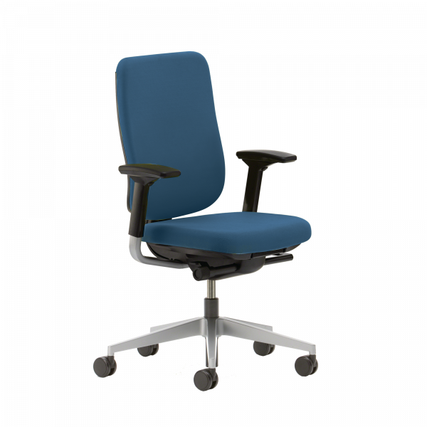 Best Blue Office Chair Reply Upholstered Desk Chair Steelcase Store