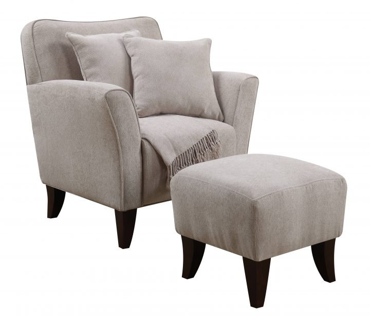 Best Blue Oversized Chair And Ottoman Ottoman Breathtaking Overstuffed Chair With Ottoman And