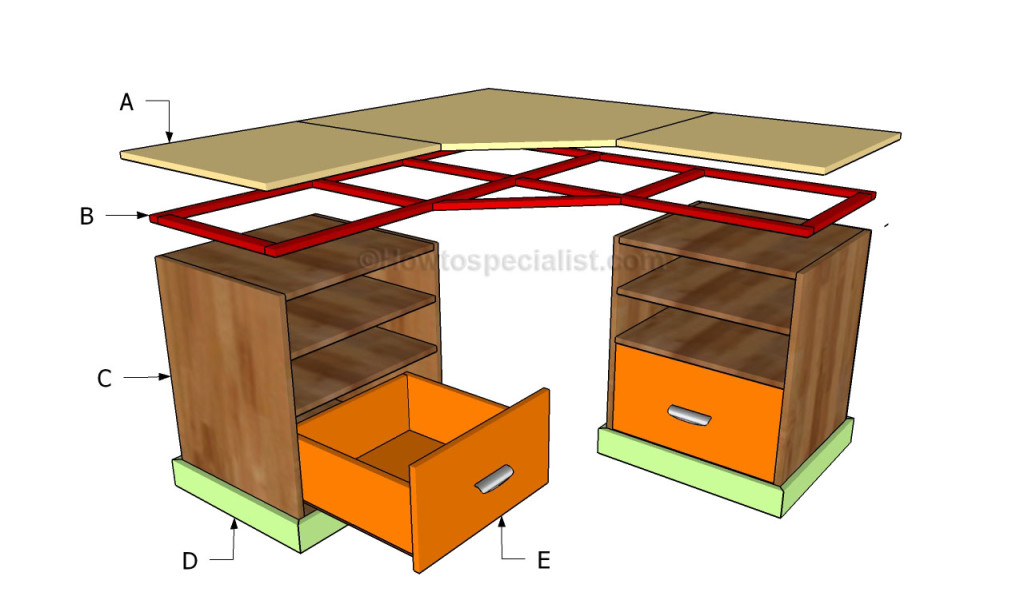 Best Build A Corner Desk How To Build A Corner Desk Howtospecialist How To Build Step