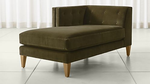 Best Chaise Lounge With Sofa Chaise Lounge Sofas Crate And Barrel