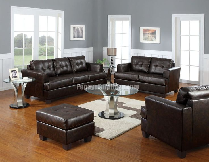 Best Chocolate Brown Leather Sofa Catchy Brown Leather Sofa And Loveseat Best Ideas About Dark Brown