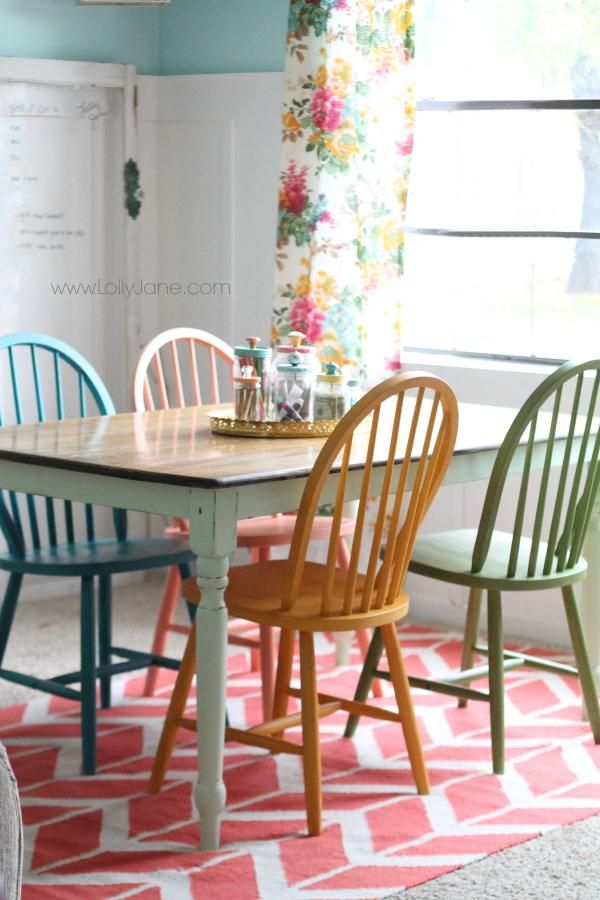 Best Colored Wood Dining Chairs Best 25 Colorful Chairs Ideas On Pinterest Colorful Furniture