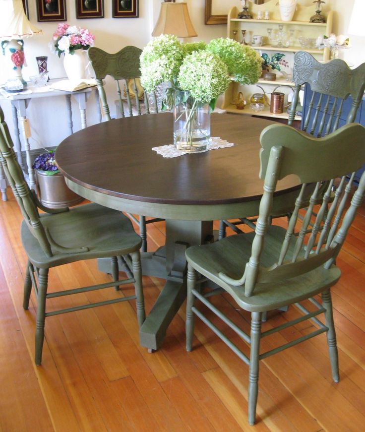 Best Coloured Dining Room Chairs Best 25 Paint Dining Tables Ideas On Pinterest Chalk Paint