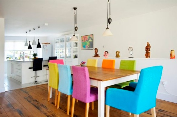 Best Coloured Dining Room Chairs Colorful Dining Chairs Insurserviceonline
