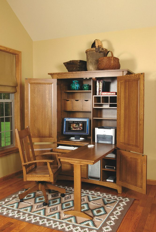 Best Computer Cabinets For Home Office Best 25 Computer Armoire Ideas On Pinterest Craft Armoire