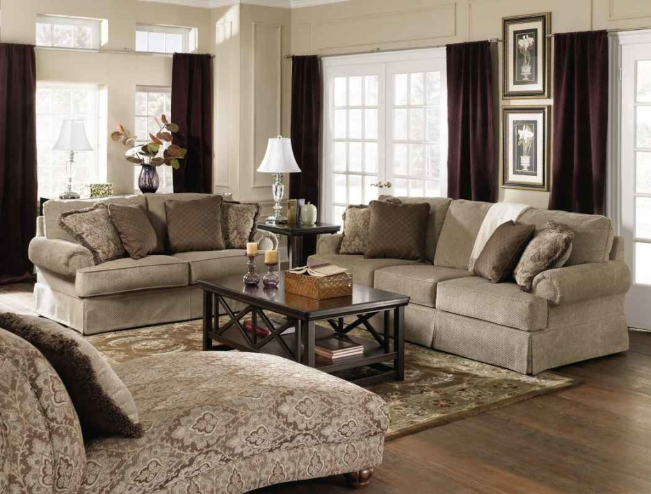 Best Cream Colored Chaise Lounge Living Room Engaging Image Of Living Room Decoration Using Grey