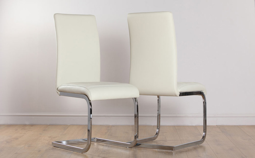 Best Cream Dining Chairs With Arms Get Cream Leather Dining Chairs And Enhance Your Dining Room