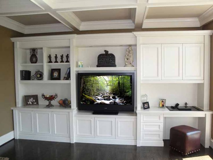 Best Custom Built In Desk Ideas Best 25 Built In Wall Units Ideas On Pinterest Built In Tv Wall