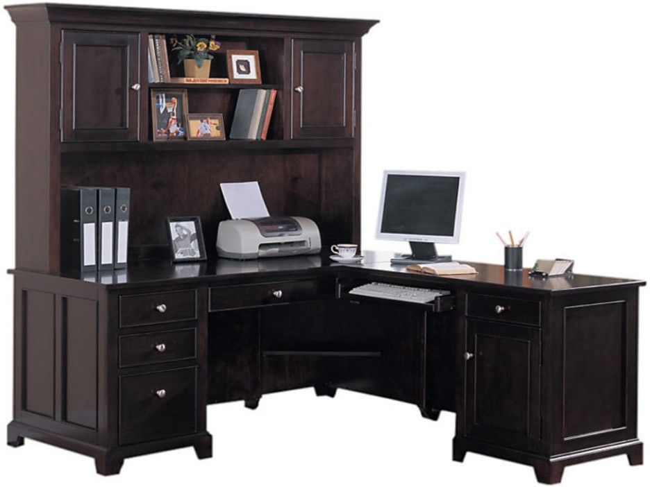 Best Dark Wood Desks For Home Office Home Office Great Home Furniture Idea For Home Office Using Dark