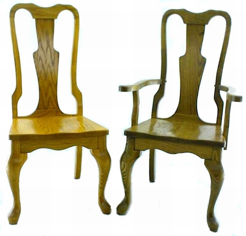 Best Dining Chair Styles Queen Anne Style Dining Room Chair From Dutchcrafters Amish Furniture