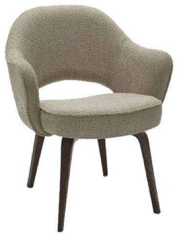 Best Dining Room Chairs Arms Saarinen Arm Chair With Wood Legs Modern Dining Chairs And Benches