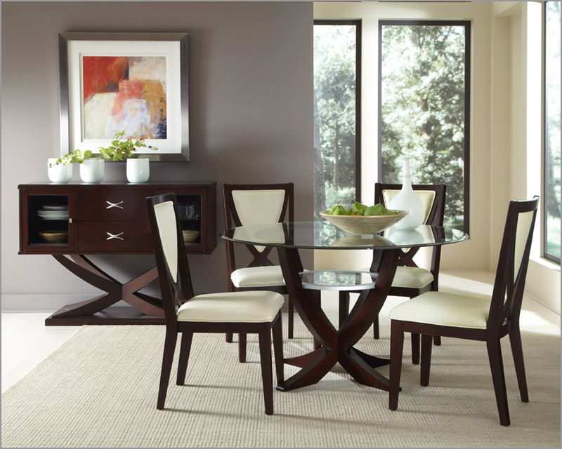 Best Dinner Room Table Set Contemporary Kitchen Decor With 5 Piece Versailles Dining Table