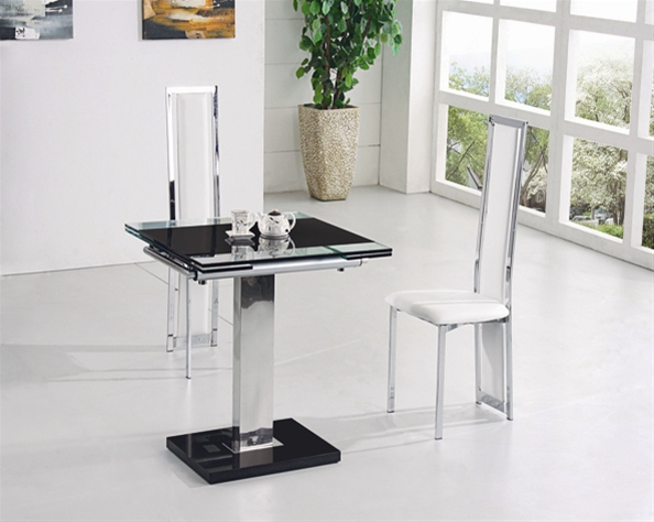 Best Extending Glass Dining Table And Chairs Gami Extending Glass Dining Table Dining Table And Chairs Dining