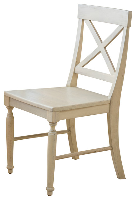Best Farmhouse Dining Chairs Leyden Dining Chairs Set Of 2 Antique White Farmhouse Dining