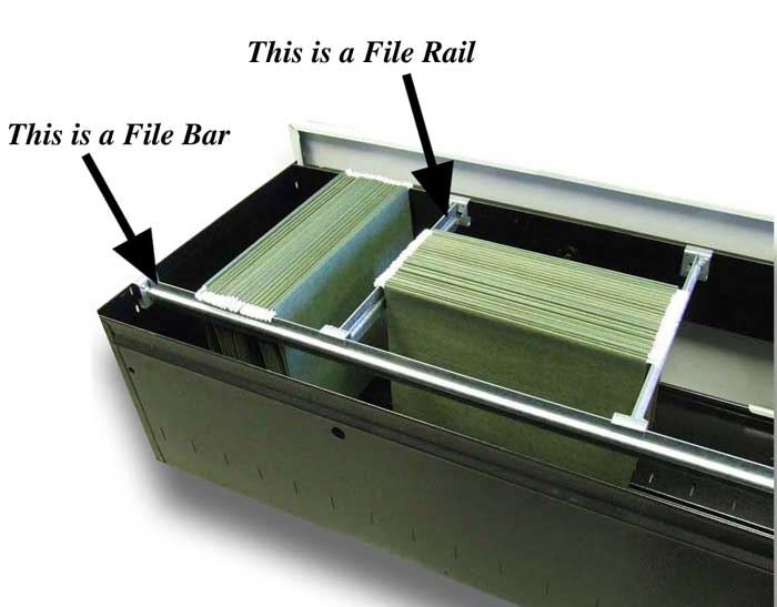 Best File Cabinet Rails File Bar Or File Rail Filebars