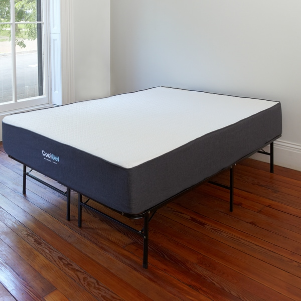 Best Foam Mattress And Frame Postureloft Dahlia 105 Inch Full Size Cool Gel Memory Foam