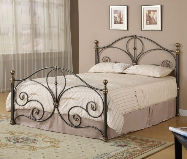 Best Full Size Headboard And Footboard Sets Wrought Iron Full Size Headboard And Footboard Sets With Beautiful
