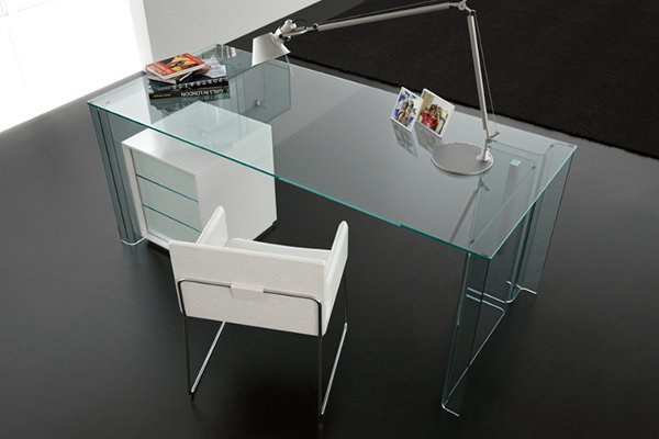 Lovable Glass Office Table Design Office Glass Table Amazing