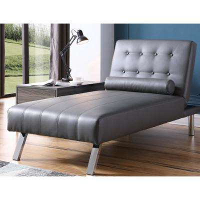 Best Gray Chaise Lounge Chair Gray Chaise Lounges Chairs The Home Depot