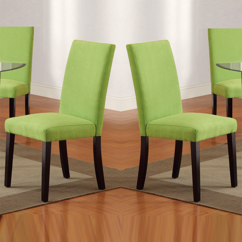 Best Green Dining Chairs Lime Green Dining Chairs 18403