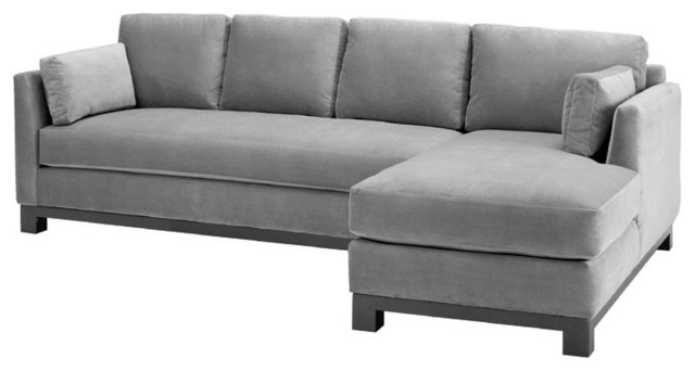 Best Grey Leather Chaise Lounge Sectional With Chaise Lounge Freedom To