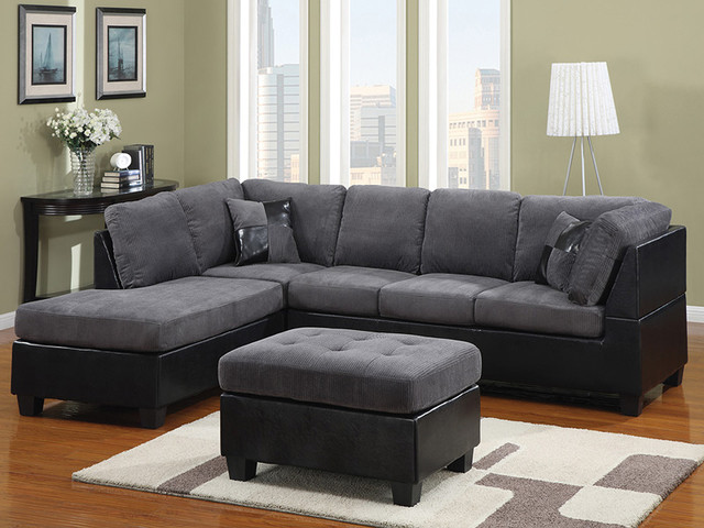Best Grey Microfiber Sectional With Chaise Gray Microfiber Sectional Sofa Sofas