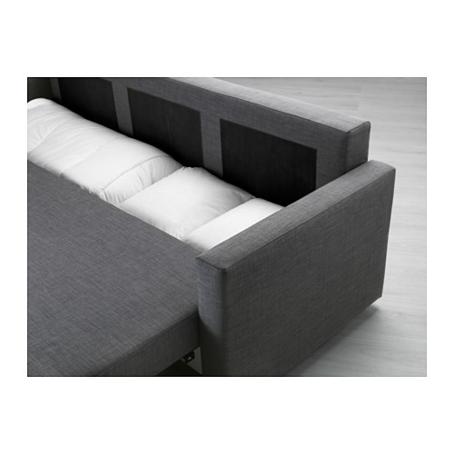 Best Ikea 3 Seater Sofa Bed Friheten Three Seat Sofa Bed Skiftebo Dark Grey Ikea