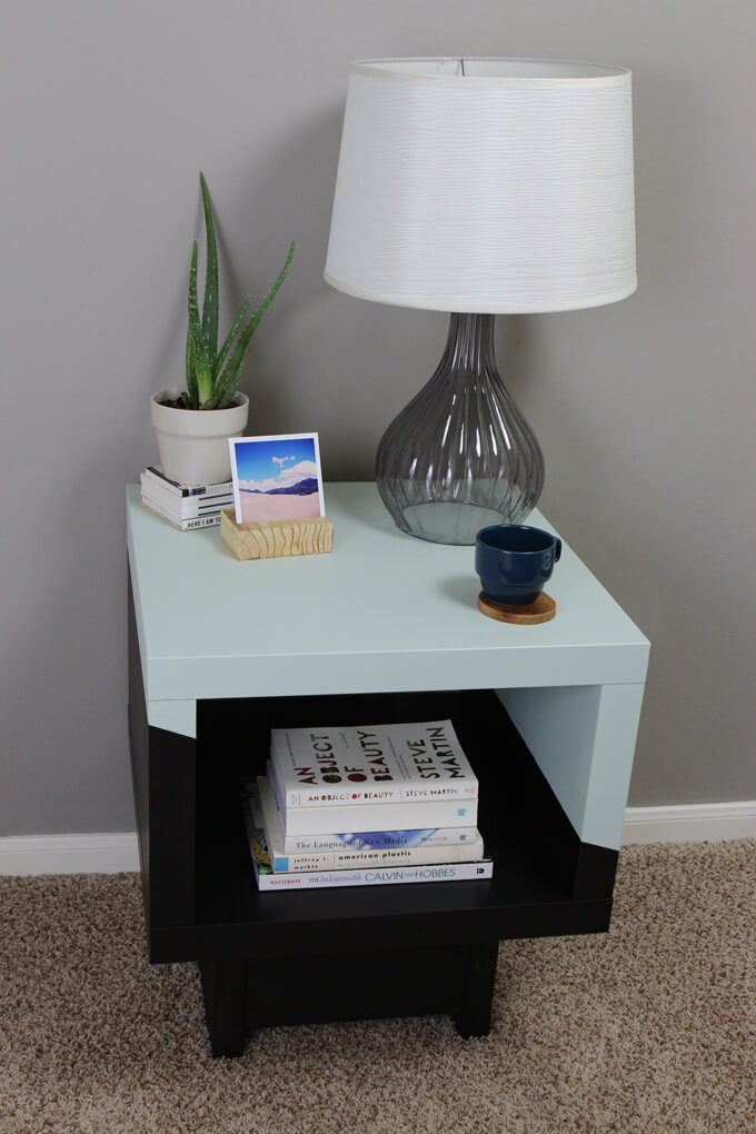 Best Ikea End Tables With Drawers Lack Side Table Ikea Hack Gray House Studio