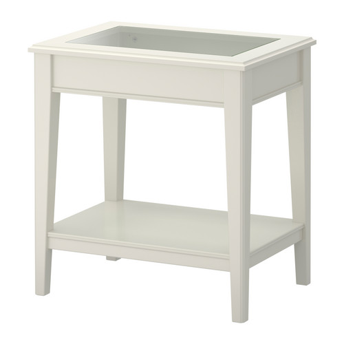Best Ikea End Tables With Drawers Liatorp Side Table Whiteglass Ikea