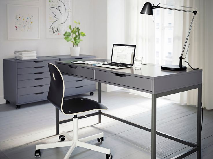 Best In Home Office Desk Best 25 Grey Home Office Furniture Ideas On Pinterest Grey Home